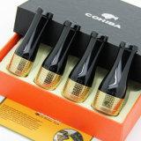 Gicleur de cuivre pur de support de pipe de cigare d'or de Golss de tailles de Cohiba 4 (ES-EB-096)
