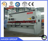 Máquina de corte da guilhotina hidráulica da máquina de estaca