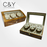 8+9 High Gloss Lacquer Wooden Automatic Watch Winder