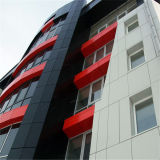 Panneau composé en aluminium matériel d'ACP de décoration pour le panneau de revêtement extérieur de mur (1250mm*5600mm*4mm)