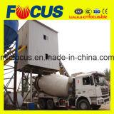 Pianta d'ammucchiamento concreta stazionaria del nastro trasportatore con la betoniera del Ce