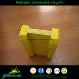 A película amarela enfrentou a madeira compensada para a construção