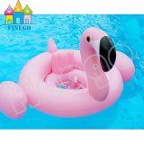 아기 Kis 팽창식 백조 홍학 수영장은 장난감 수영 반지를 뜬다