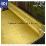 Ячеистая сеть обыкновенного толком Weave Cu65-Brass