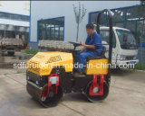 Reiten-auf Typen Doppeltrommel-Miniasphalt-Rolle für Verkauf