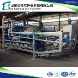 Filtre-presse de courroie de traitement de cambouis pour le cambouis asséchant la séparation de liquide de Soild