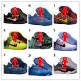 Ko all'ingrosso è scarpe da tennis di alta qualità dei pattini atletici degli addestratori degli uomini di Kb 11 dei pattini di pallacanestro del taglio di livello basso Xi retro noi 5.5-12