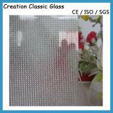 4mm Windows를 위한 명확한 장식무늬가 든 유리 제품 창 유리