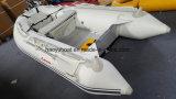 barca gonfiabile di sport della barca di rematura del crogiolo di PVC di 3m con il Ce di alluminio del pavimento