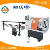 Torno horizontal del metal del CNC