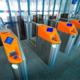 Infravermelho Aleta-Balanç a porta da segurança da barreira da entrada do controle de acesso