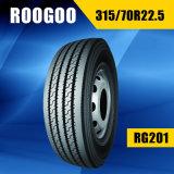 Todos los nuevos neumáticos resistentes de acero del carro de la parte radial TBR (ESCRITURA DE LA ETIQUETA del ECE del PUNTO)