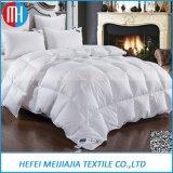 Quilt do algodão da alta qualidade com ganso de enchimento para baixo