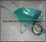 空気車輪の園芸Handtoolのカートの手押し車