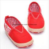 Chaussures de bébé uniques molles 001