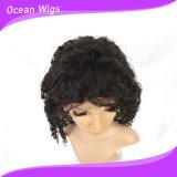 Peluca profunda del cordón del pelo de la onda