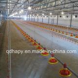 Heller Stahlkonstruktion-Geflügelfarm-Aufbau für Huhn
