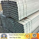 Труба Galvanzied строительных материалов прямоугольная стальная