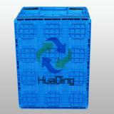 Caixa de dobramento de armazenamento de energia plástica