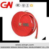 Carretel duro flexível da mangueira de incêndio para a proteção de incêndio