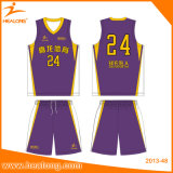Healong beste Entwurfs-Sublimation-BasketballJerseys