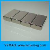 Aimant matériel magnétique permanent de néodyme de bloc pour le générateur à un aimant permanent