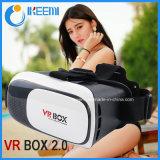 Cartone per i giochi di film di Smartphone Xnxx, cuffia avricolare di Google di Vr per le video maschere, vetri di 3D Vr