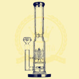 Recycler-Glaswasser-Rohr-Wasser-Rohr-Glas des Twister-14inch mit Inline-Filtrierapparat