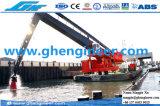 E-Guindaste hidráulico da planta do cimento do cais de Quay da doca do molhe