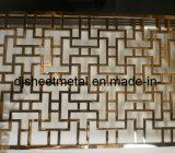 Écran pliant en acier inoxydable pour décoration murale