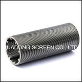 Filtro dal tubo dello schermo di rotondità della scanalatura dell'acciaio inossidabile 316L 0.020