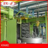 Schwere Teile Strenthening Selbstdrehende Tisch-Granaliengebläse-Maschine