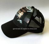 Chapeau de base-ball avec le tirage photos au panneau avant et la maille au dos (LY021)