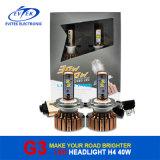 크리 말 LED H4와 가진 고품질 차 LED 헤드라이트; BMW, Audi를 위한 40W 3600lm LED 맨 위 빛