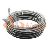 """1/2 """" X 50 FT de cabo galvanizado da recolocação para o líquido de limpeza do dreno"""