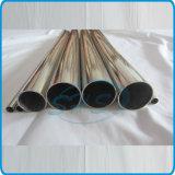 Acier inoxydable soudé rond des pipes pour des traitements (supports)
