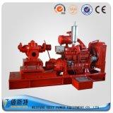 Fabbricazione portatile della pompa ad acqua dell'azionamento del motore diesel della Cina