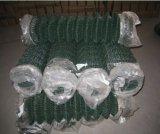 engranzamento revestido da cerca da ligação Chain do PVC do furo 2inch