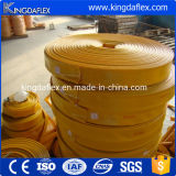 Gran Diámetro Manguera flexible de plástico manguera de PVC Perfil plano de la manguera