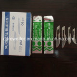 Wegwerfbares steriles chirurgisches Blatt (Kohlenstoffstahl u. Edelstahl)