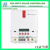 3 ans de contrôleur solaire automatique de la garantie 60A 12/24/36/48V MPPT
