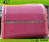So netter rosafarbener Nahrungsmittelkarrenschlußteil mit unterschiedlicher Konfiguration