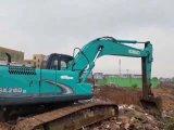 아주 좋은 근무 조건 사용된 굴착기 기계장치 Kobelco Sk260-8