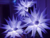 Party gonflable Decoration 31-Point Star, Lighting Spiky Star (BMDL180)