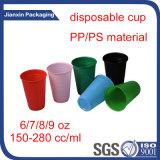 Plastic Producten van de Beschikbare Dubbele Mok van de Kleur