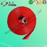 Boyau flexible de PVC Layflat de débit de l'eau d'irrigation agricole à haute pression de boyau pour la pompe