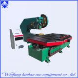 La DEL marque avec des lettres la plate-forme de trou estampant le matériel de presse de perforateur de feuille