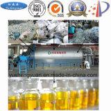 Reparto del equipo de la pirolisis con la contaminación plástica para el aceite combustible