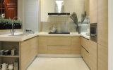 Gabinete de cozinha UV do lustro elevado do estilo do console de Pólo (ZX-004)