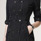 標準的で細い適合様式のストリップの形式的な女性設計事務所の服